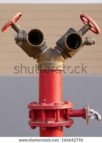 Fire hydrant - stock photo