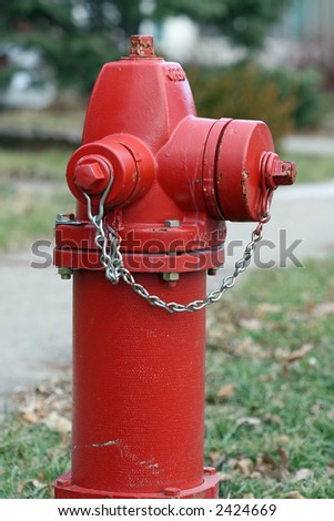 fire plug - stock photo