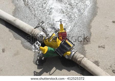 Fire Rescue - stock photo
