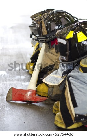 fireman equipment and tools