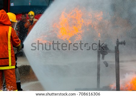 Fireman, Firefighter training