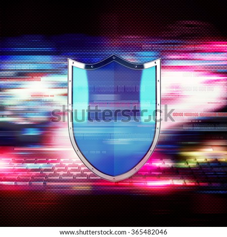 Firewall concept - stock photo
