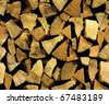 firewood packing stand seamless background pattern - stock photo