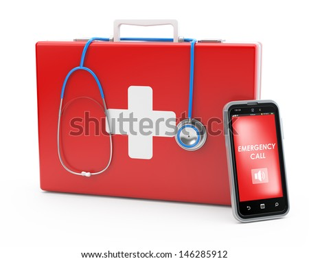first-aid concept - stock photo