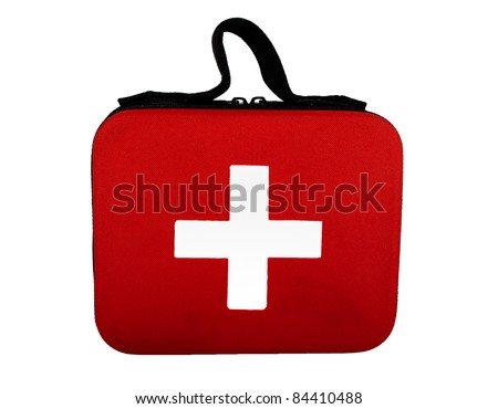 First aid kit - stock photo