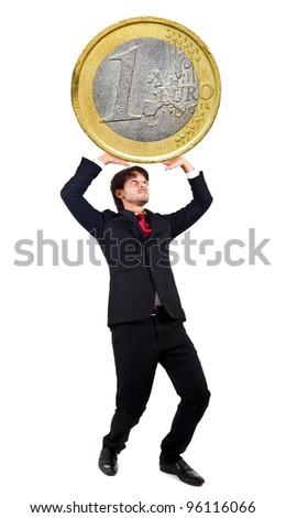 Fiscal pressure - stock photo
