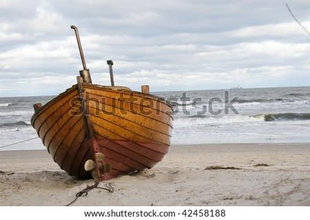 fischerboot - stock photo
