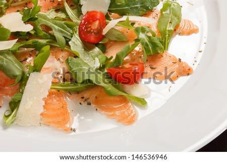 Fish Carpaccio - stock photo