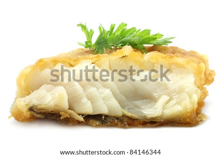 Fish cutlet - stock photo