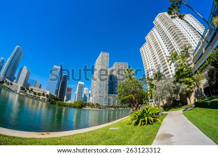 Fish eye city stock images royalty free images vectors for Key city fish