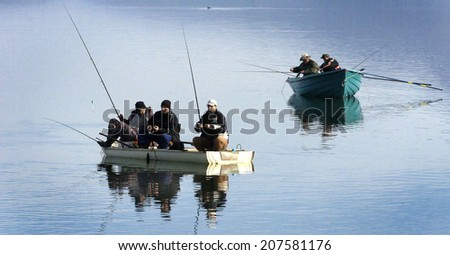 Fushun stock photos royalty free images vectors for Lakes to fish near me