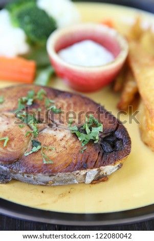 fish steak