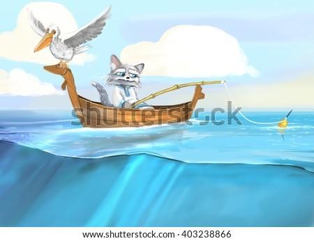 Fisher Cat - stock photo