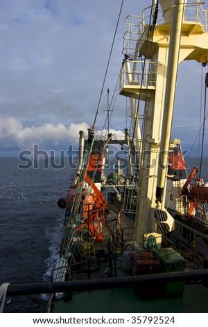 fishery - stock photo