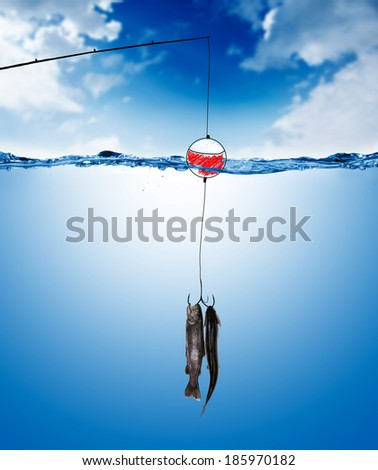 Float fishing stock photos images pictures shutterstock for Floating fishing line