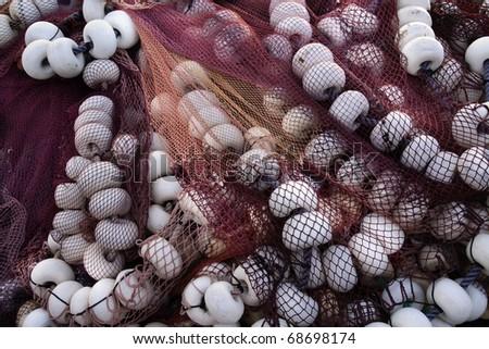 Fishing net - stock photo