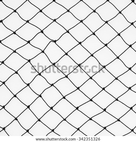 Fishing net with space for your text - stock photo