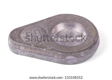 Fishing sinkers stock photos images pictures for Om fishing sinkers