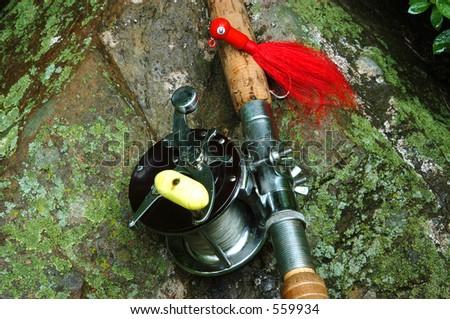 Fishing Tackle II - stock photo