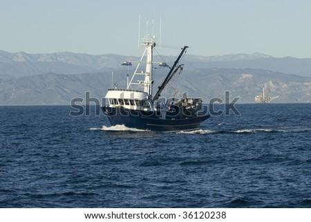 Fishing Vessel - stock photo