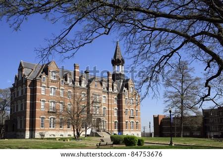 Fisk University, Jubilee Hall  in Nashville Tennessee - stock photo