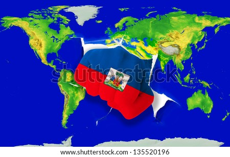 Haitian Map Stock Images RoyaltyFree Images Vectors Shutterstock - Haitian map