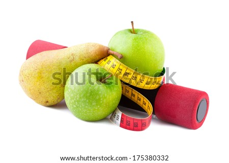 Fitness and Diet - stock photo