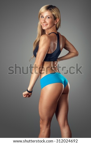 Fitness Model Stock Photos, Images, & Pictures | Shutterstock
