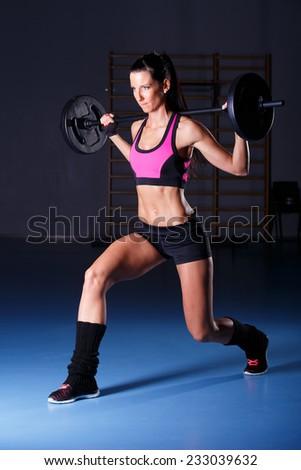 Fitness woman - stock photo