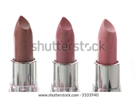five different lipstick