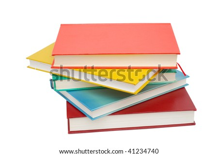 five learning colorful books
