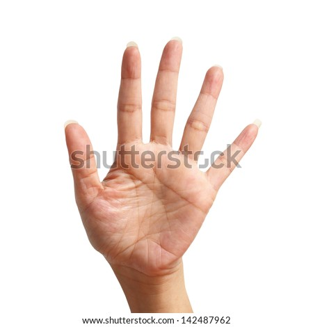 Hand Fingers Four Holding Up Stock Photos, Images ...
