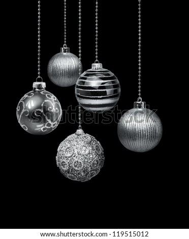 Black Christmas Ornament Stock Images, Royalty-Free Images ...