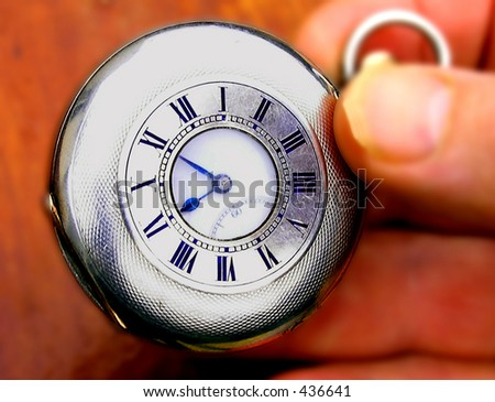 Five to Nine On time - stock photo