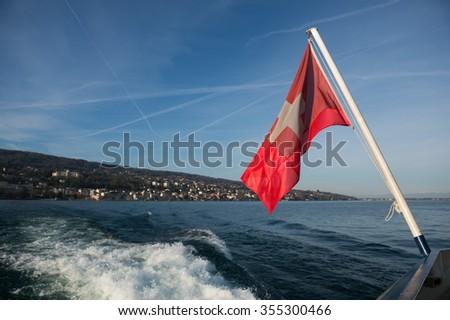 flag - stock photo
