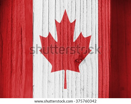Flag of Canada, background