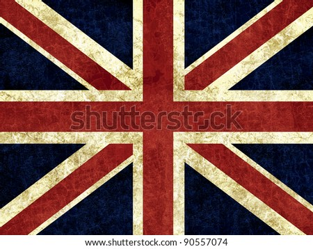 Flag of England - stock photo