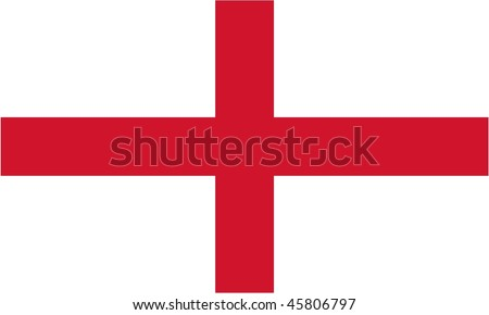 flag of England (st. George's cross)