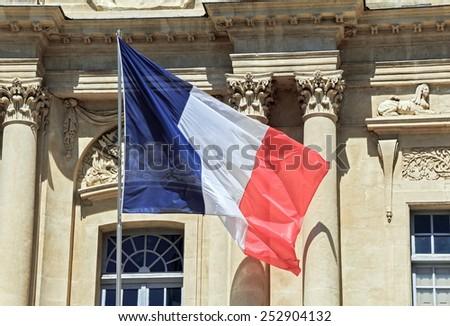 Flag of France - stock photo
