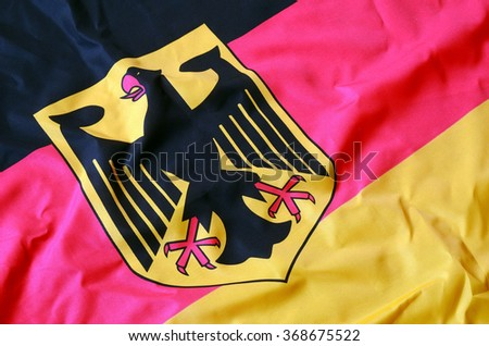 Flag of Germany - stock photo