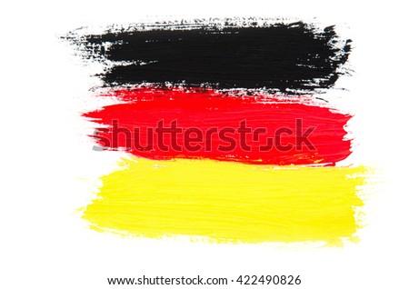 Flag of Germany - stock photo