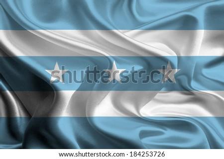 Flag of Guayas Province, Ecuador - stock photo