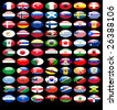 flag of nations - stock photo