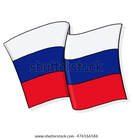 Flag of Russia illustration