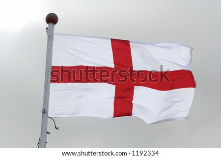 Flag of St George - stock photo