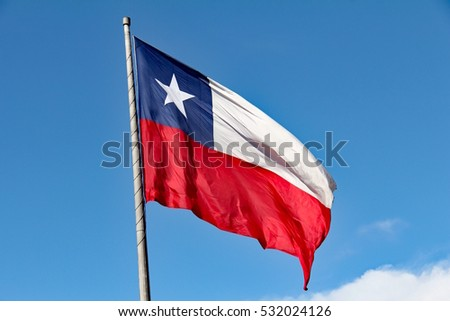 Flag of the Republic of Chile