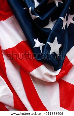 Flag of USA - stock photo