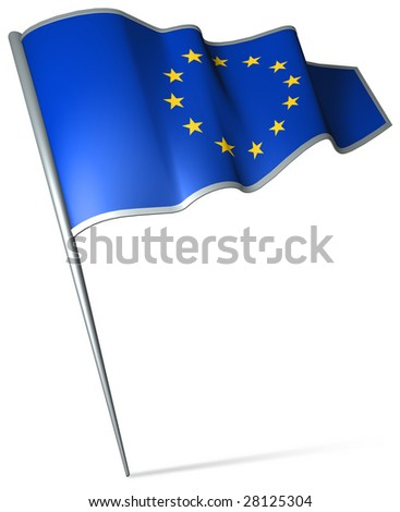 Flag pin - EU
