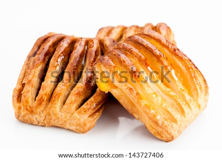 flaky stuffed pastries group jam