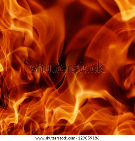 flame background  ; illustration - stock photo